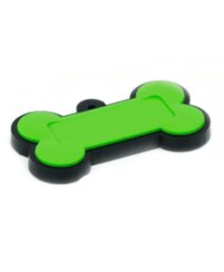 Chaveiro Osso - Emborrachado Verde 2