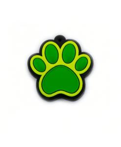 Chaveiro Patinha - Emborrachado verde