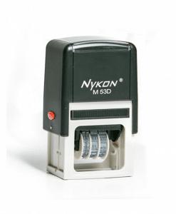 Carimbo Datador M53D - 4,5 x 3cm - Nykon